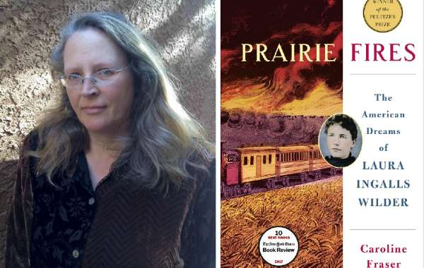 Caroline Fraser, author of Prairie Fires: The American Dreams of Laura Ingalls Wilder