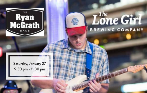 Ryan McGrath Band at Lone Girl Brewing Company