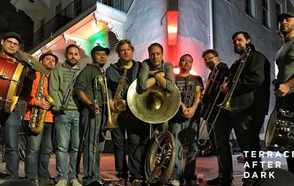Terrace After Dark: Mama Digdown's Brass Band