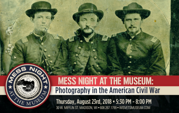 MESS NIGHT AT THE MUSEUM: Bringing the Battlefield Home: Photography and the American Civil War