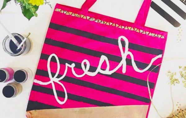 Drop In: Mimosas and Market Bags (April Edition)