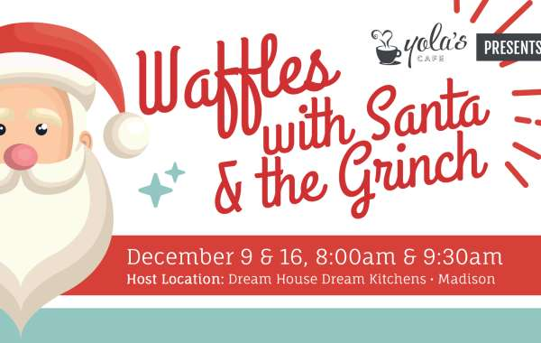 Waffles with Santa & the Grinch