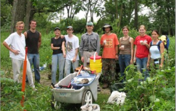 UW- Madison Arboretum Ecological Restoration Work Party: Core Area and Curtis Prairie.