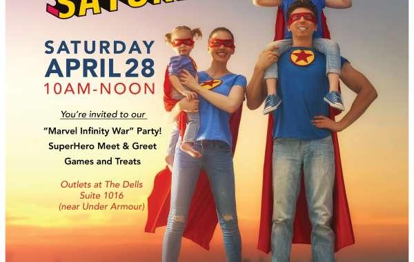 Superhero Saturday!
