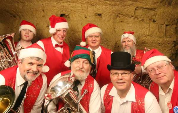 Caroling in the Cave - The Christmas Tubas