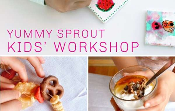 Yummy Sprout Kid's Food Workshop at Revel