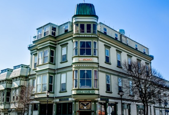The Inn at 2nd & C, located in the Historic Eagle House