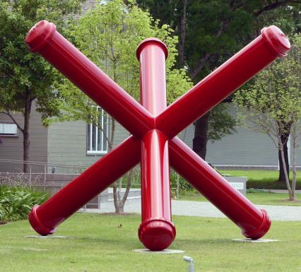 Houston Sobre Ruedas - Menil Sculpture