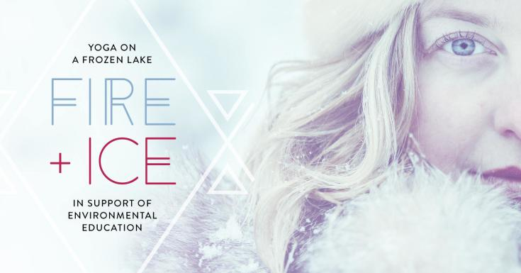 Fire & Ice Yoga on a Frozen Lake at FortWhyte Alive
