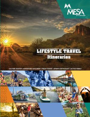 2016 Lifestyle Itinerary Cover