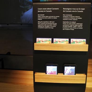 Augmented Reality at the Canadian Museum for Human Rights