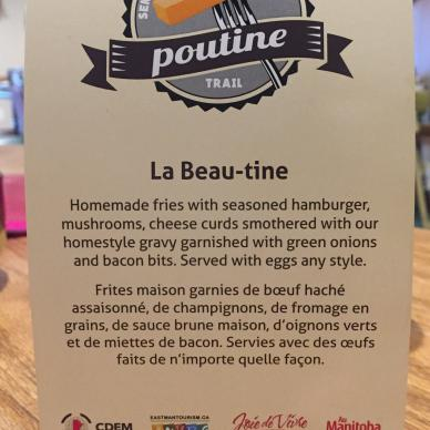 Poutine trail Richer