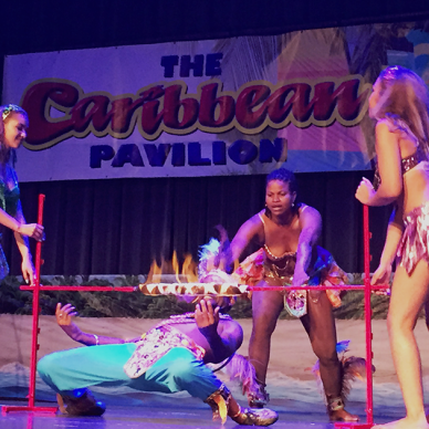 Limbo at the Caribbean Pavilion