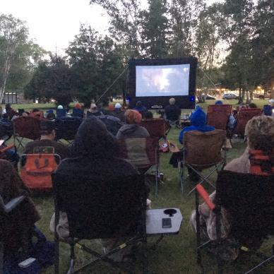 Free movie night Whiteshell