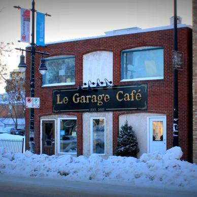 Le Garage Cafe Winnipeg