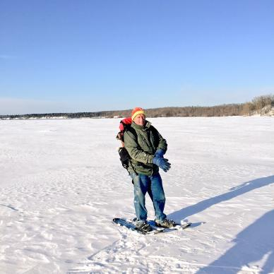 Wild Harmony Canoe Adventures: Snowshoeing in Whitemouth Provincial Park