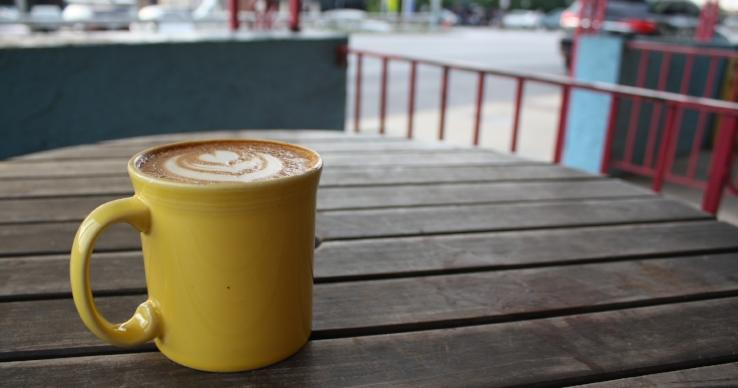 One More Cup Banana Bread Latte