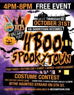 Huntington Beach Main Street Halloween Fest