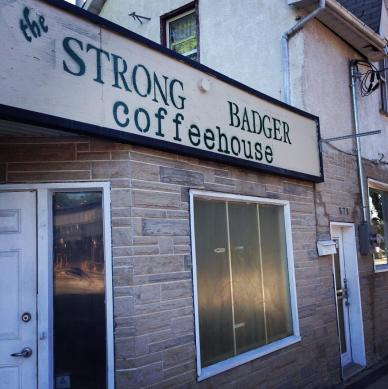 Image from the The Strong Badger Coffeehouse Facebook page