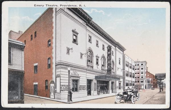 Emery Theatre building