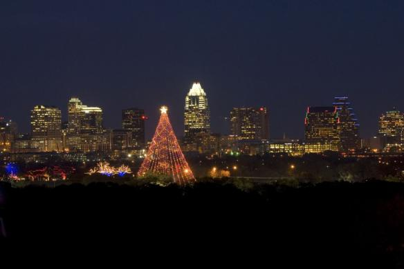 Austin's Zilker Tree. Photo by Austin Trail of Lights.