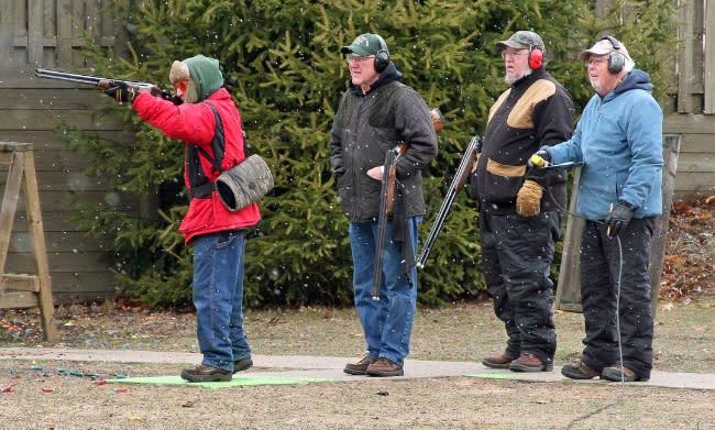 Skeet Shooting with Shotguns