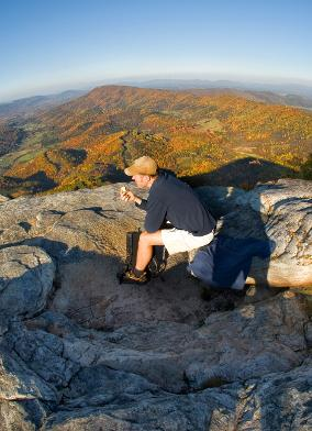 McAfee Knob Hiker - Outdoor Itinerary