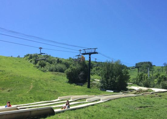 Alpine Slide at Park City Mountain Resort