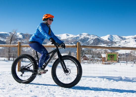 Fat Tire Biking - Spring in Park City