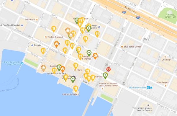Jack London Map