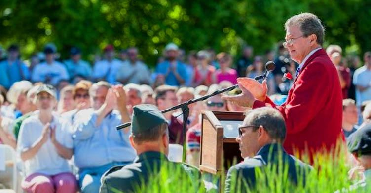 memorial day service at provo cemetery