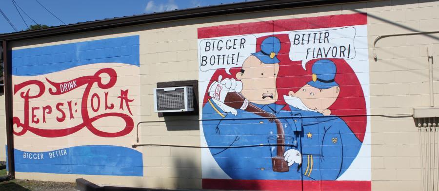 Pepsi Classic Mural