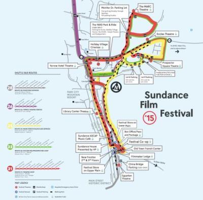 Sundance Map