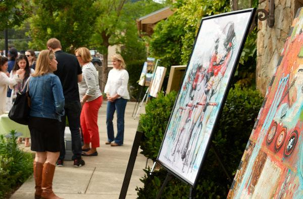 Art, Sip and Stroll in Yountville