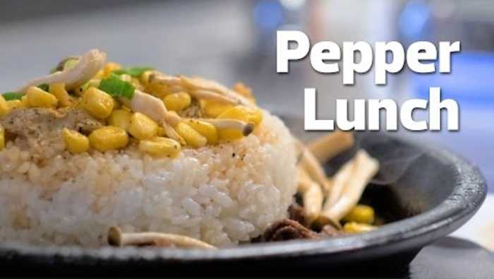 365 Days of Dining Presents: Pepper Lunch