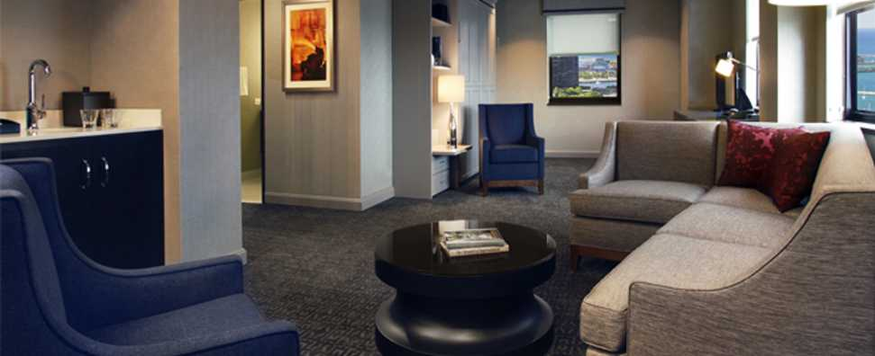 Hilton Chicago, One Bedroom Suite