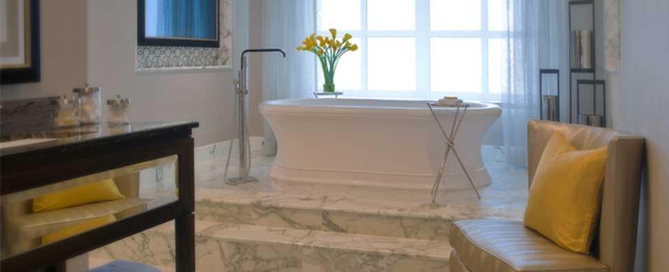 Hilton Chicago, Conrad Hilton Suite, Master Bath