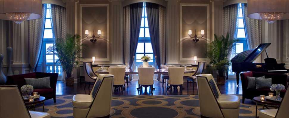 Hilton Chicago, Conrad Hilton Suite, dining