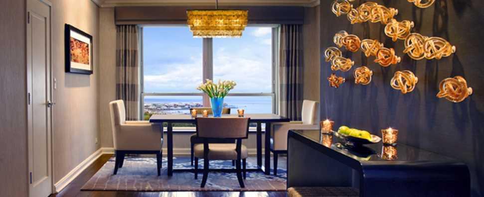 Hilton Chicago, Chicago Suite Dining Room