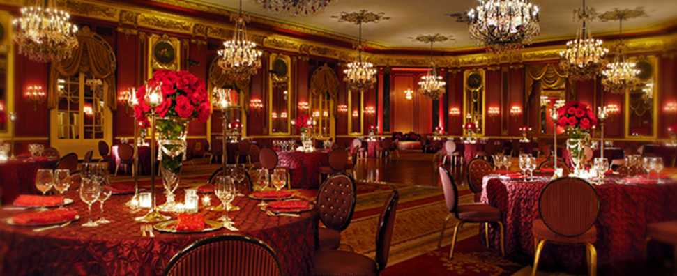 Palmer House Hilton, Red Lacquer Ballroom Lunch