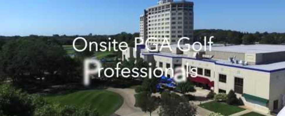 Drone Video of Oak Brook Hills Resort