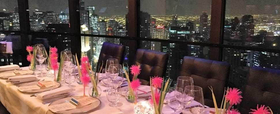 Sky Lounge - Long Table of 20