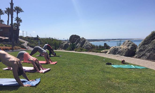 Oceanfront Yoga at Inn at the Cove