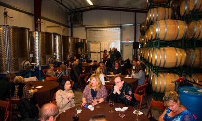 Winemaker Breakfast in the Barrel Room (Harvest Festival)