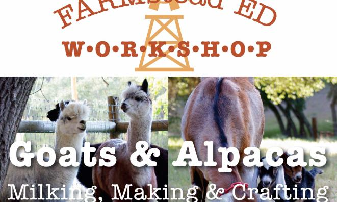 Goats & Alpacas: Milking, Making & Crafting
