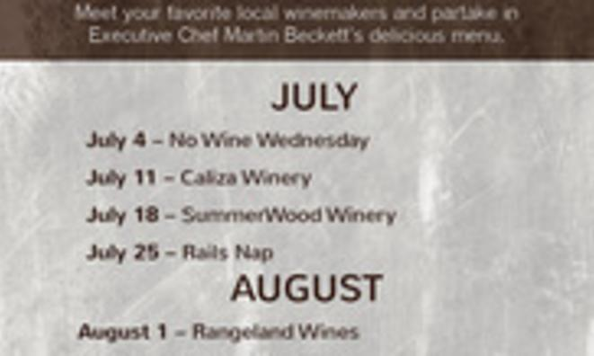 Wine Wednesday on the Patio with Aaron Wines