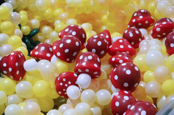Balloon Mushrooms