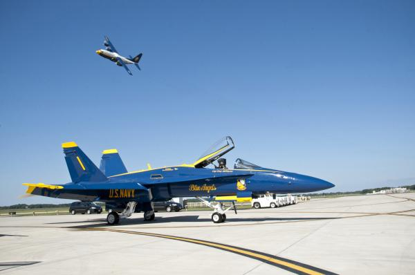 Blue Angels Practice at NAS