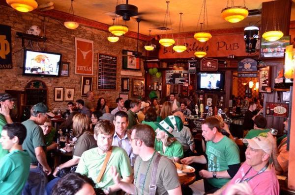 St Patricks Day at B D Rileys Irish Pub