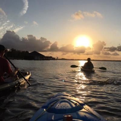 Kayaking on Prien Lake | Photo of the Month